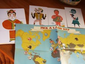 Pick a land map